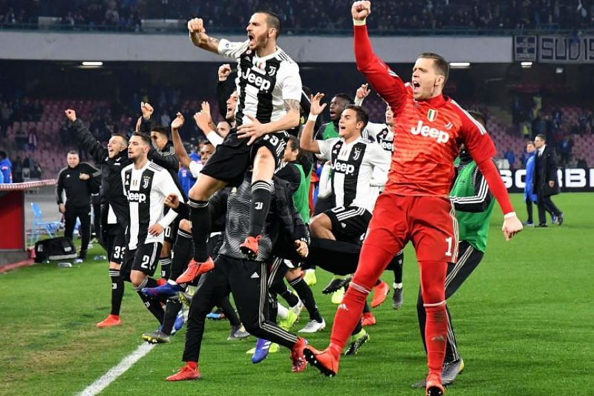 Massimiliano Allegri's unbeaten leaders have now as good as sealed their eighth straight title after their 2-1 win against at Napoli on March 3, 2019.