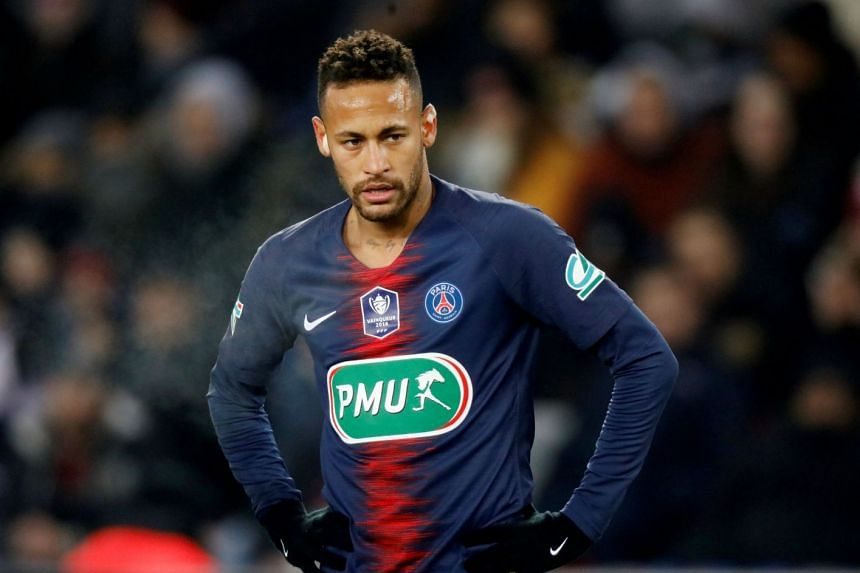Neymar will miss Wednesday's Champions League last-16 return leg against Manchester United with the metatarsal problem he suffered six weeks ago.