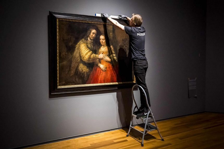 The Rijksmuseum is holding a retrospective of Rembrandt's works to mark the 350th anniversary of the death of the artist.