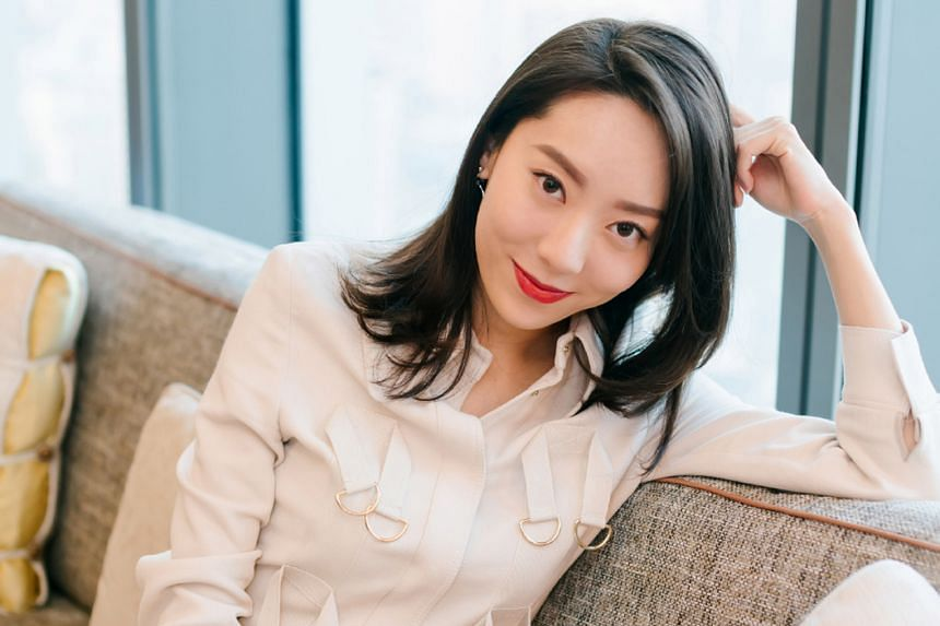 China actress E Jingwen gets her big break playing the female version (above) of a bit-part actor in The New King Of Comedy, a role that Stephen Chow played in the 1999 movie, King Of Comedy.