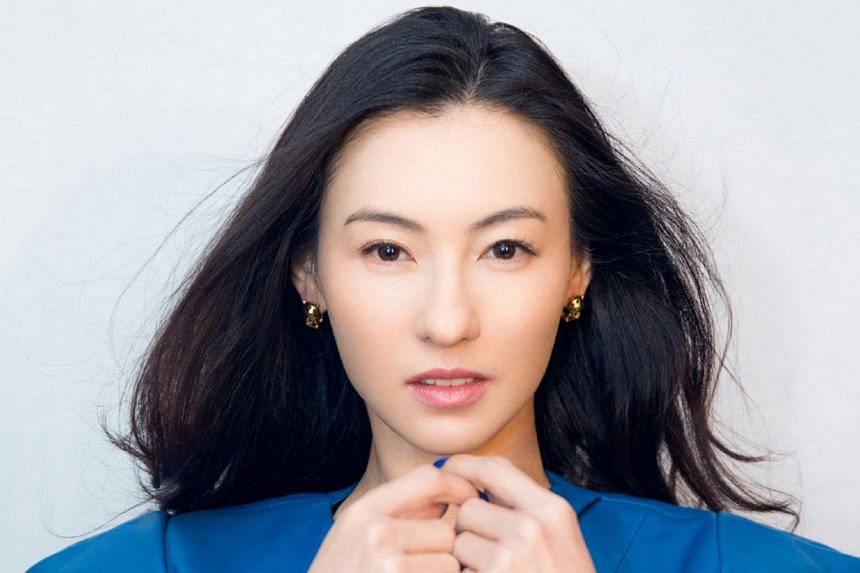 Jelly Lin and Cecilia Cheung (above) also got their kick-start in Chow's movies.