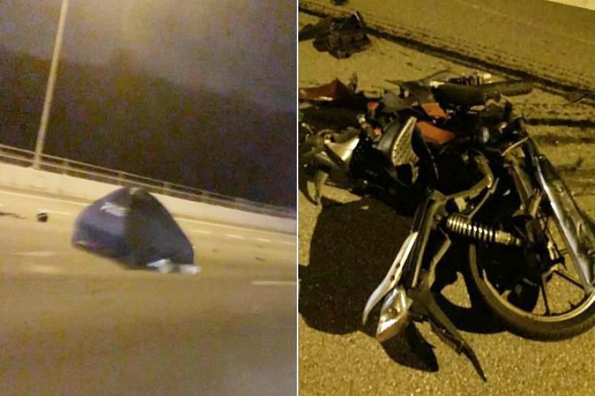 The accident on the BKE involving a taxi, a car and a motorcycle on March 4 claimed the life of a 61-year-old.