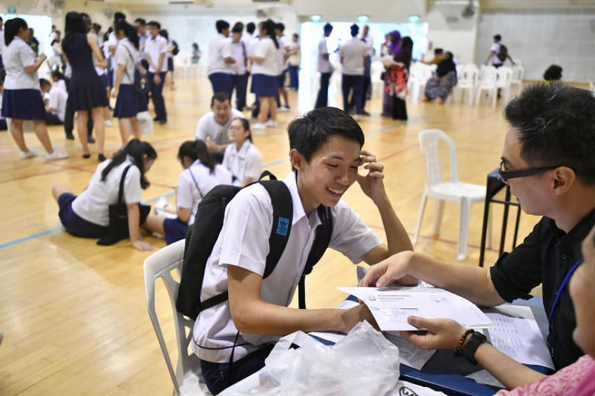 Having only one main exam in a year increases the weight placed on it and the emphasis on grades, says the writer.