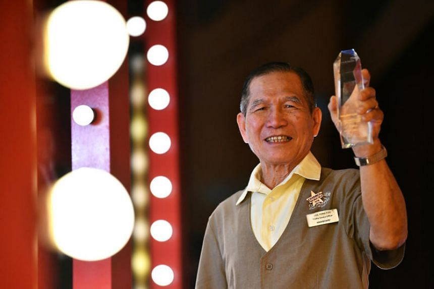 Winners of other awards include trolley service officer Lee Yong Foo, 81, who won the outstanding custodial staff (silver) award for his role in stopping a potential theft in May 2018.
