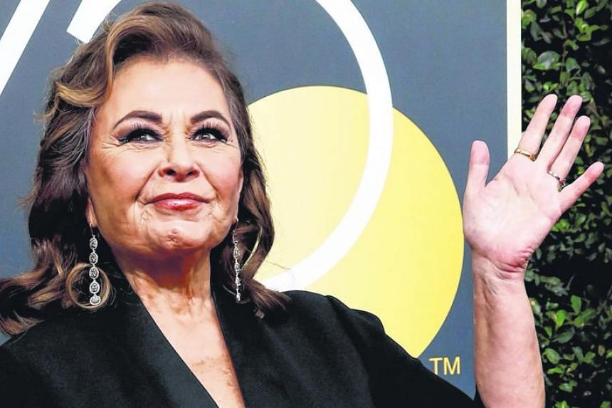 "Commenting on the women who came forward with stories of abuse in hotel rooms, actress Roseanne Barr accused them of ""pretending that they didn't go to trade sexual favours for money""."