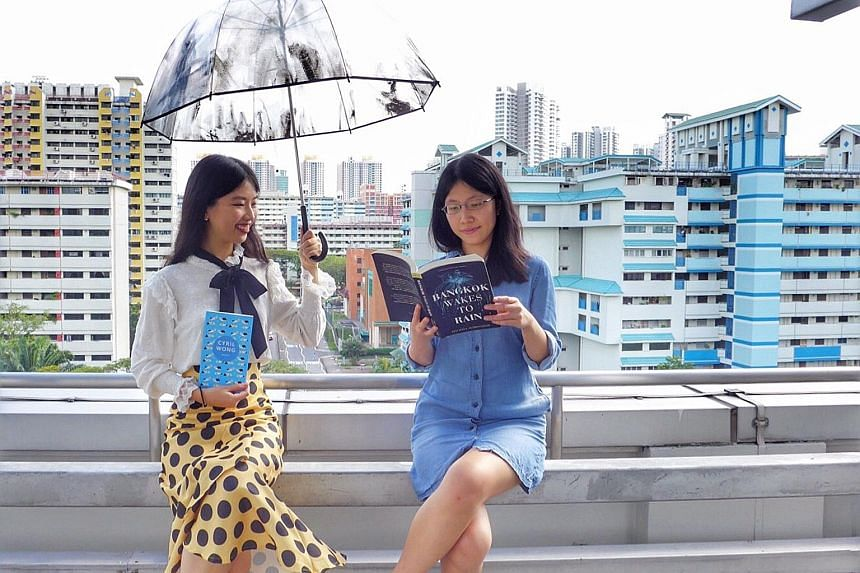 Olivia Ho (left) and Toh Wen Li (right).