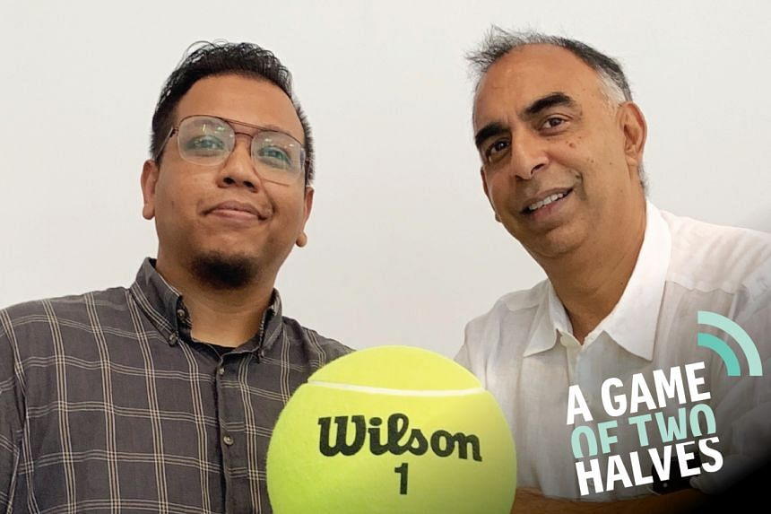 A Game Of Two Halves' Sazali Abdul Aziz (left) hosts colleague Rohit Brijnath as they discuss international and local talking points in this sports podcast.