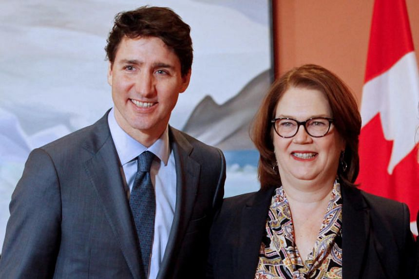 Jane Philpott (right), a key member of Trudeau's Cabinet, said she was quitting over the government's response to allegations that officials inappropriately pressured former justice minister Jody Wilson-Raybould to help major construction company SNC