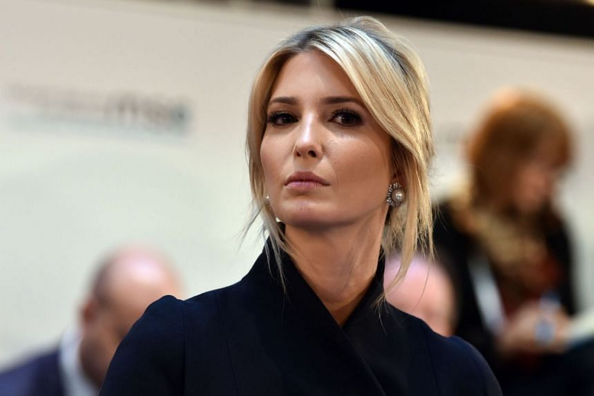 White House Presidential Advisor Ivanka Trump attending a panel discussion in Munich, southern Germany, on Feb 16, 2019.