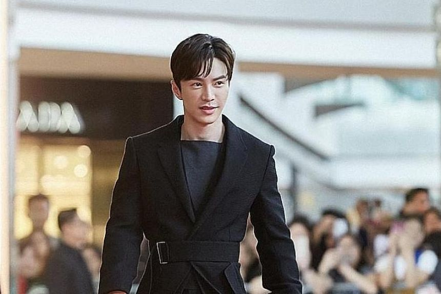 """Lawrence Wong said he is not a """"hardcore fashion person"""" and adores casual wear, but steps out of his comfort zone when it comes to the image he has to portray for work."""