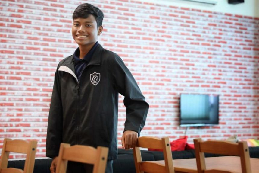 Kent Ridge Secondary School student Saffareeszan Ghaniman Abdullah decided to join Youth COP, an engagement programme that partners neighbourhood police centres.