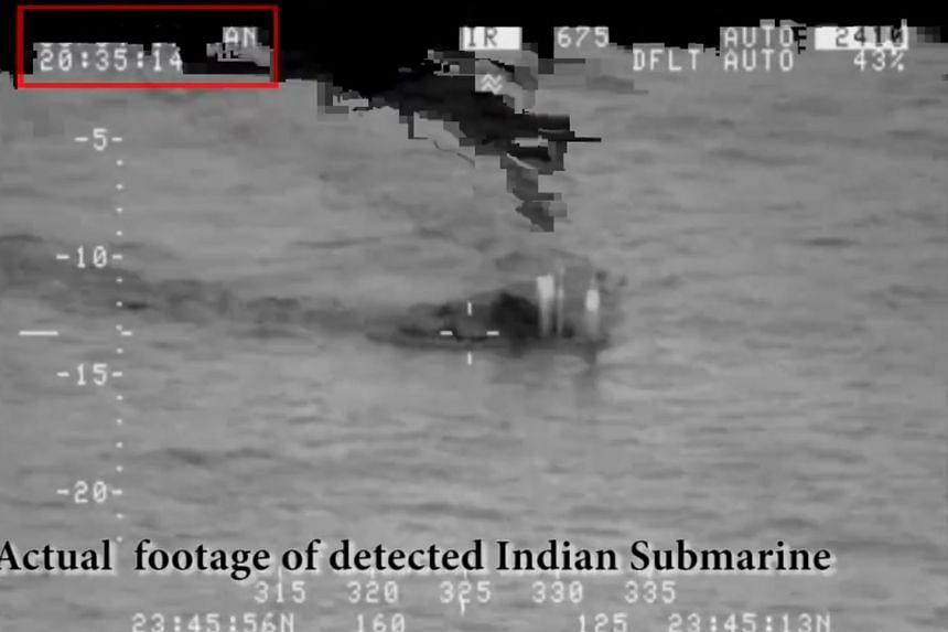 "It was the first such incident since 2016, when Pakistan said it had ""pushed"" an Indian submarine away from Pakistani waters."