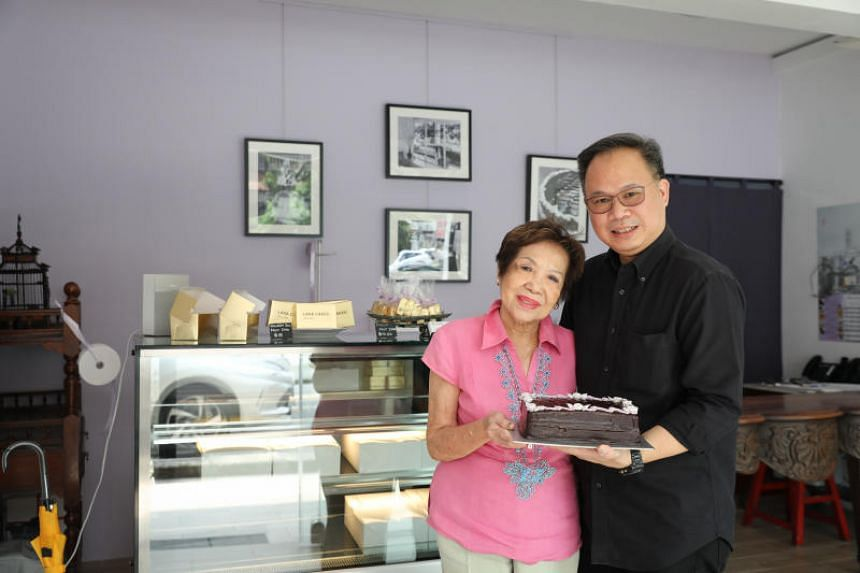Former banker Jason Kwan has taken over Lana Cake Shop from his mother Violet Kwan.