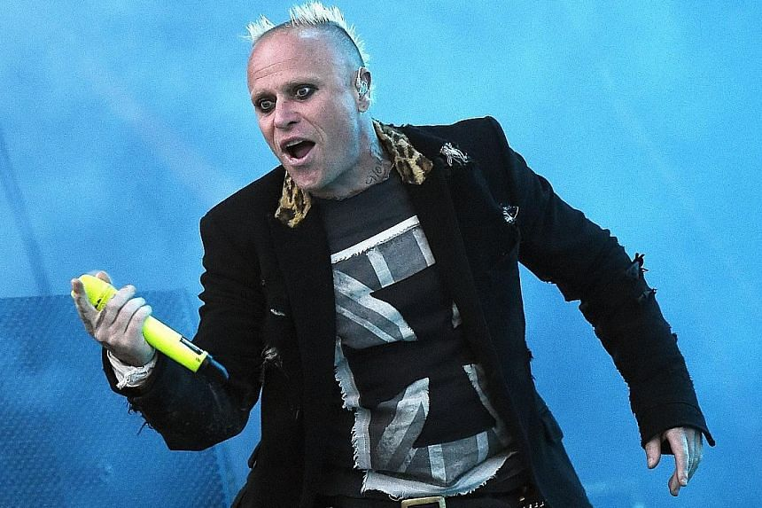 Frontman Keith Flint helped turn The Prodigy into an influential rave act.