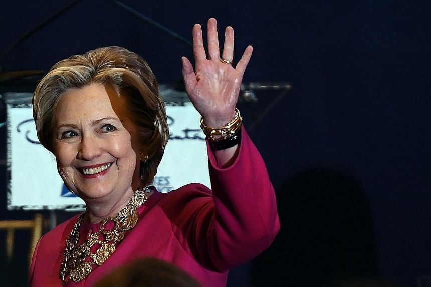 Former US secretary of state Hillary Clinton signalled that she planned to remain a presence on the political scene.