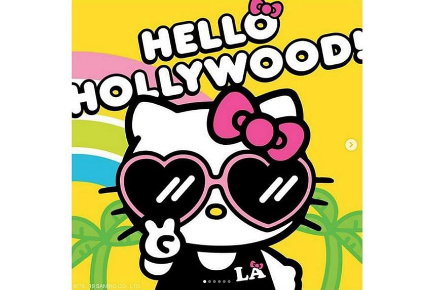 926e21889 Hello Kitty hits Hollywood with planned film debut, Entertainment ...