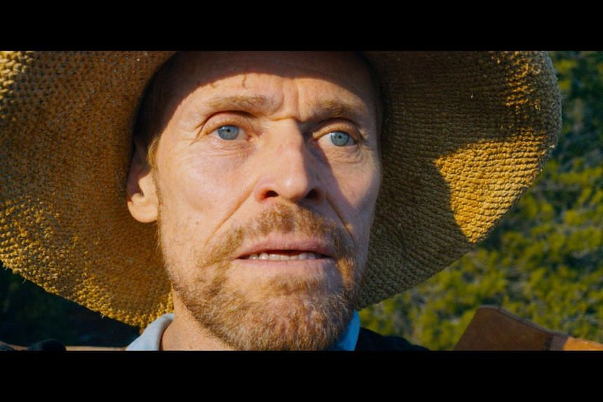 Willem Dafoe as struggling painter Vincent van Gogh, in the biopic drama At Eternity's Gate.