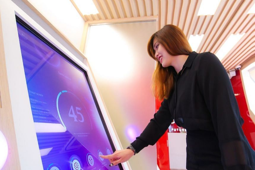 SK-II's Future X Smart Store was the first of its kind in South East Asia. PHOTO: SK-II