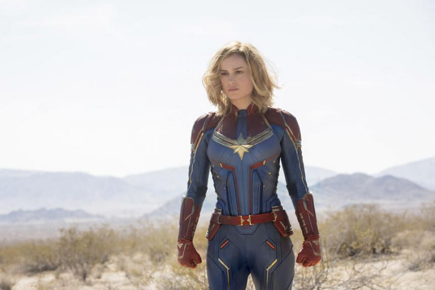 Actress Brie Larson's Captain Marvel is a milestone because it is the first character in the hugely successful Marvel Cinematic Universe to lead a film, solo.