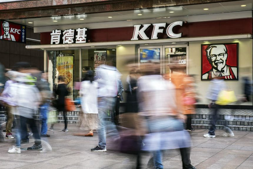 KFCs in China take payment by facial recognition, ice cream is served by robotic arms and customers can control the background music through their mobile phones like a new-age jukebox.
