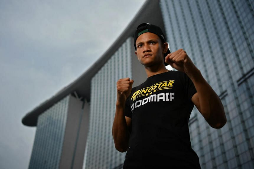 Singapore's top professional boxer Muhamad Ridhwan is deemed a world champion in the making, according to American boxing matchmaker Sean Gibbons.
