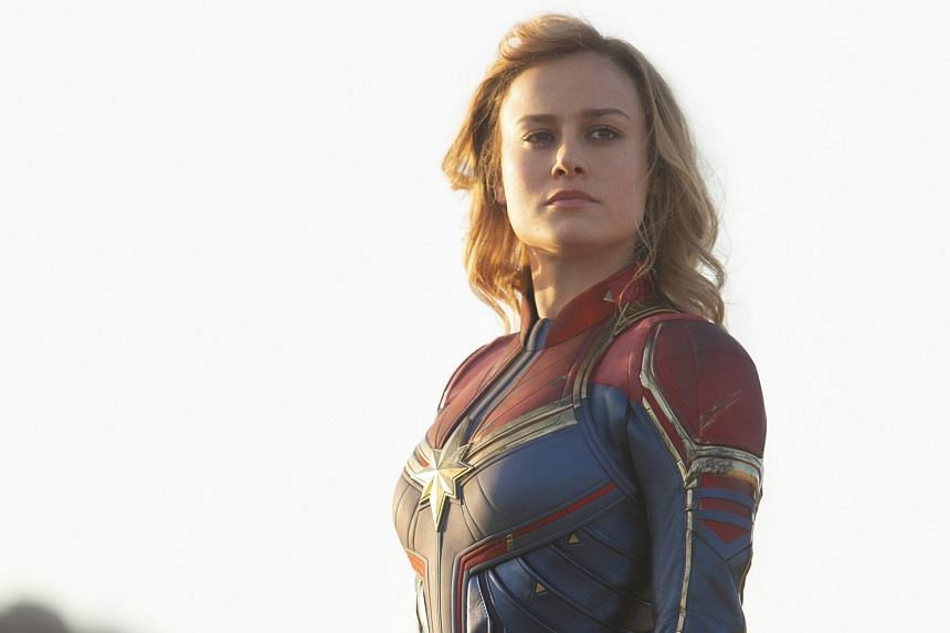 As the lead in Marvel's first woman-driven superhero movie, actress Brie Larson is carrying an unfair amount of weight on her shoulders.