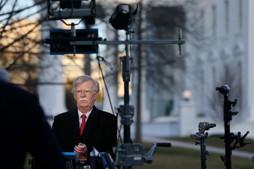 US will look at ramping up sanctions on North Korea if Pyongyang doesn't scrap its nuclear programme, said Mr John Bolton.