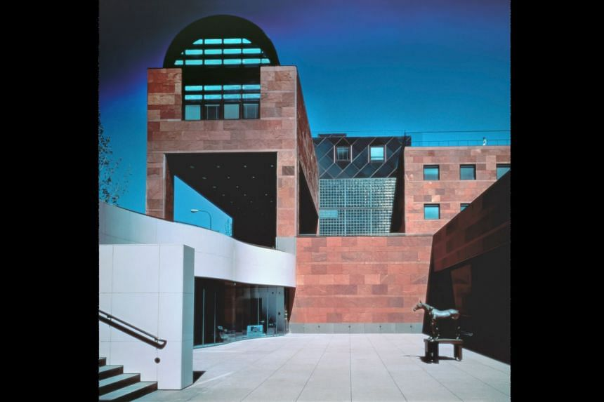 The Museum of Contemporary Art, Los Angeles, designed by Arata Isozaki in the 1980s.