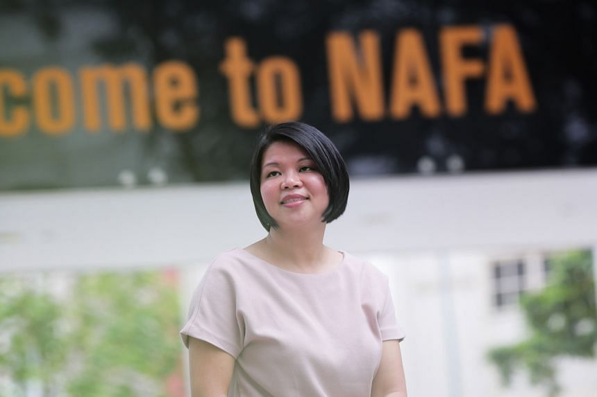 Nafa marketing and sponsorship manager Jessica Ong has been on a job-sharing arrangement for the last two years so she can spend more time with her daughter, who is now six.