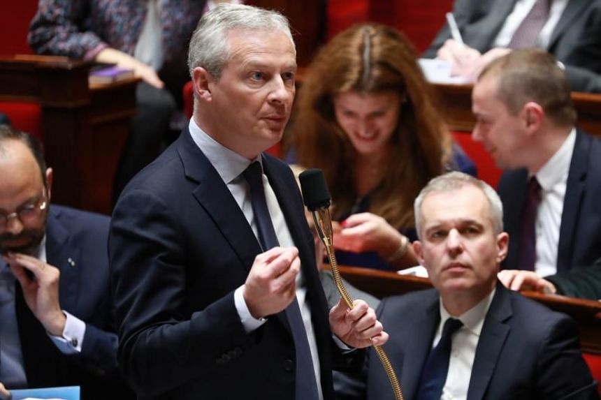 French Economy Minister Bruno Le Maire said the so-called Gafa (Google, Apple, Facebook and Amazon) tax will target digital companies with global annual sales of more than €750 million and sales in France of at least €25 million.