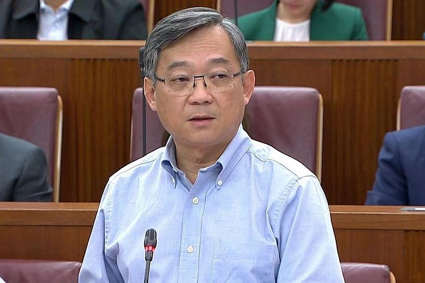 Health Minister Gan Kim Yong.