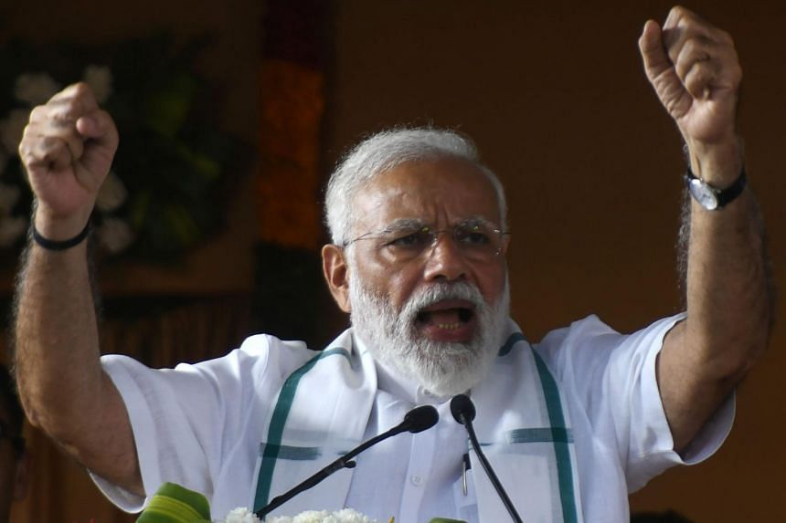 India's Prime Minister Narendra Modi has embraced the attack as a central plank of his election campaign and criticised opposition parties for demanding evidence.