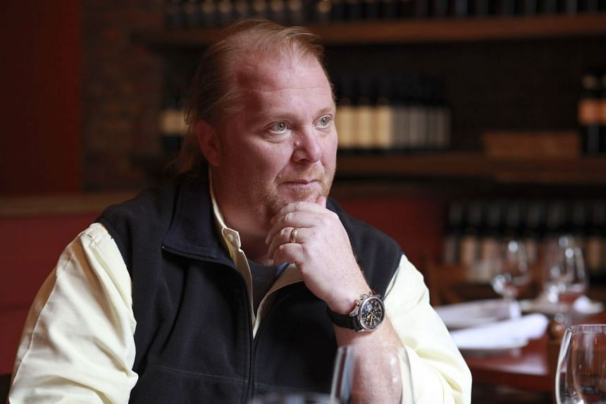 Mario Batali at his restaurant, Otto, in New York, in May 2012.