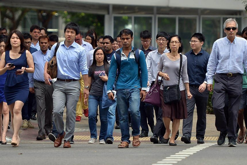 It is becoming common to see Singaporeans working for companies run by foreigners, which is a sign that Singaporeans are losing their competitive edge.