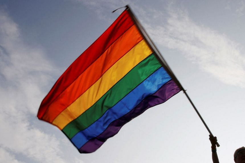 A rainbow flag that represents the LGBTQ community. The Tourism Ministry said that Malaysia will not do anything to guests based on their sexual orientation.