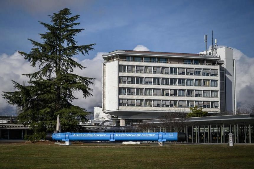 A building of the European Organisation for Nuclear Research (Cern) in Meyrin, near Geneva, on Jan 29, 2019.