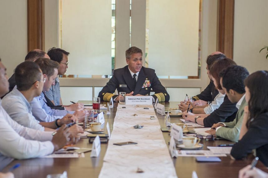 The commander of the US Indo-Pacific Command, Admiral Philip Davidson, cited the move as a positive sign of its commitment to the region amid increasing Chinese military activity in the South China Sea.