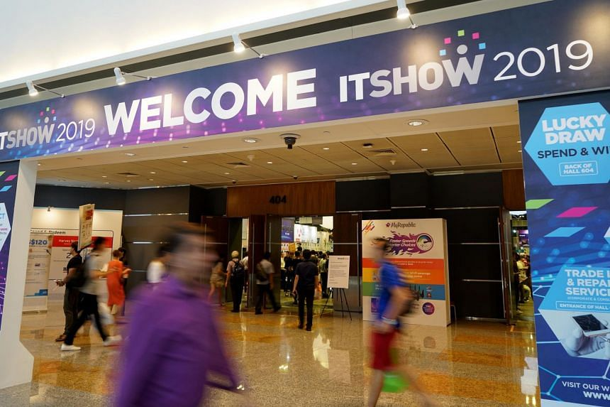 The IT Show 2019 starts today and lasts till this Sunday at Suntec City Convention Centre.