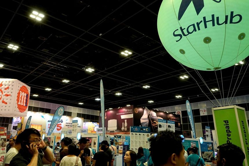 Telcos are out in full force at IT Show 2019, which starts today and lasts till this Sunday at Suntec City Convention Centre.
