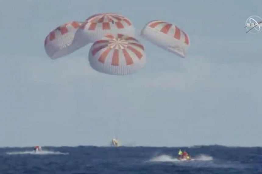 The SpaceX Dragon capsule was launched on March 2, 2019, from the Kennedy Space Centre in Florida on a mission to demonstrate that it could carry astronauts to the International Space Station.