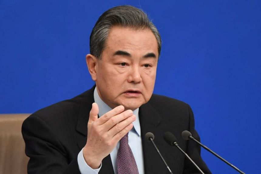 Chinese Foreign Minister Wang Yi added that countries in the region should develop and honour a code of conduct themselves.