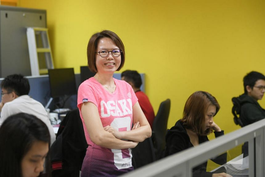 Ms Wong Siu Cheng rolls out software updates and tests and launches products in her role as vice-president of product management at mobile wallet and payments company MatchMove.