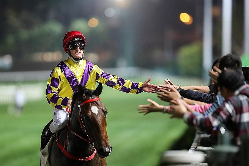Champion's Way will be suited by the spacious Sha Tin track in tomorrow's Race 10 and this appears to be his race to lose.