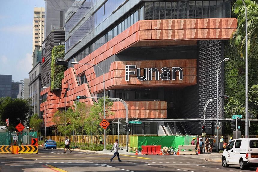 Funan by CapitaLand will host WeWork as well as a co-living serviced residence, as the lines between work and play become increasingly blurred.