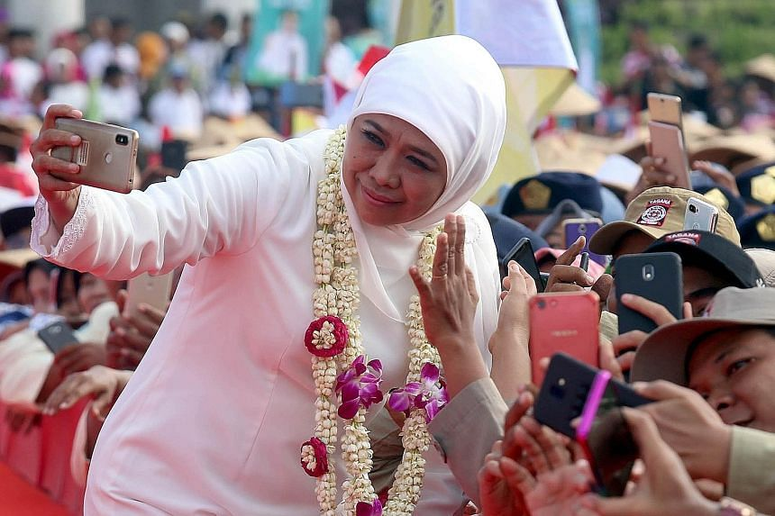 Ms Khofifah Indar Parawansa, who was born and bred in East Java's capital Surabaya, knows well what the people of the province needs, and she plans to tackle the problems - ranging from unemployment to the rising cost of living - over her five-year t