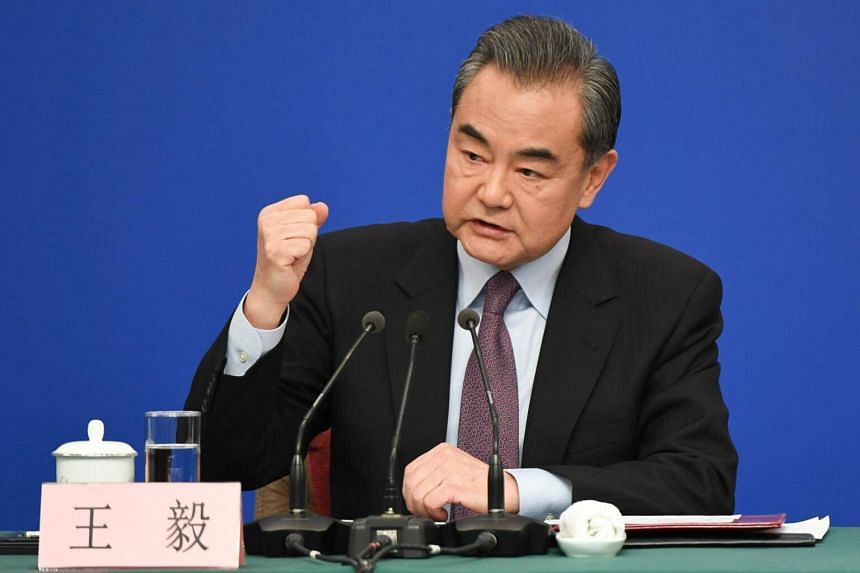 Chinese Foreign Minister Wang Yi countered such viewpoints by pointing to various infrastructure projects under the BRI partner countries, at a media conference on March 8, 2019.