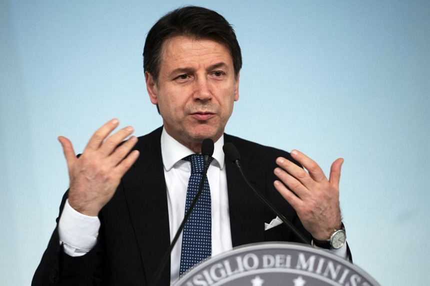 """""""With all the necessary precautions, Italy's accession to a new silk route represents an opportunity for our country,"""" said Prime Minister Giuseppe Conte."""