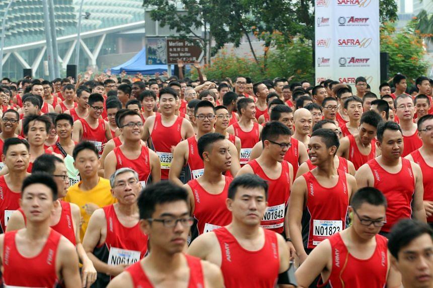 The cancellation of the Safra Singapore Bay Run and Army Half Marathon comes after the SAF announced an unprecedented lowering of training tempo across all services on Jan 24, 2019.