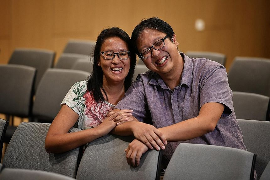Ms Sue Lim and her husband Mark set up an online store to sell sensory toys which can be hard to get.