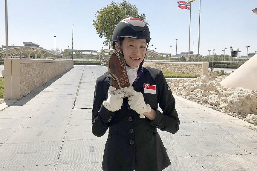 Laurentia Tan was second in the freestyle grade I event yesterday. She was also second in the championship event on Friday, and first in the team category on Thursday.